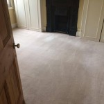 A perfectly cleaned carpet - the result from End of Tenancy cleaning project in Borehamwood London by Sunny Clean